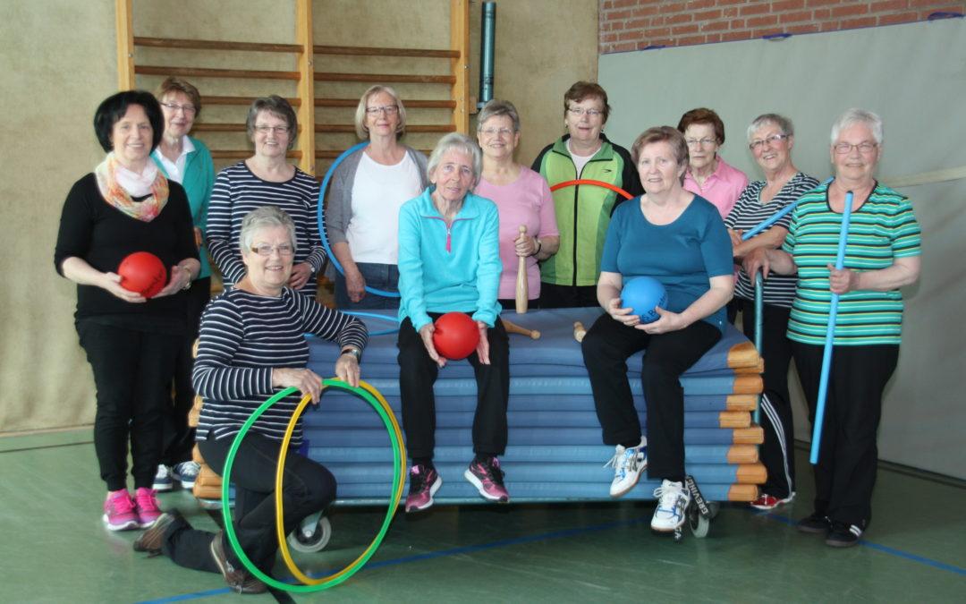 """Gymnastikgruppe """"Lustige Runde"""""""